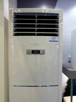 MIDEA air conditioner floor standing unit.