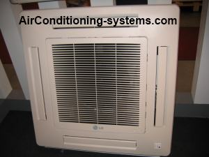 cassette air conditioner unit
