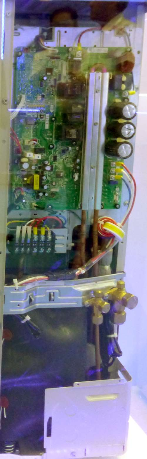 Daikin VRV IV R410A outdoor unit printed circuit board controller.