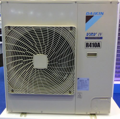 Daikin VRV IV R410A outdoor unit.