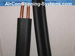 Insulation for copper piping in HVAC