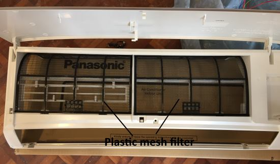 Panasonic Plastic Mesh Filter