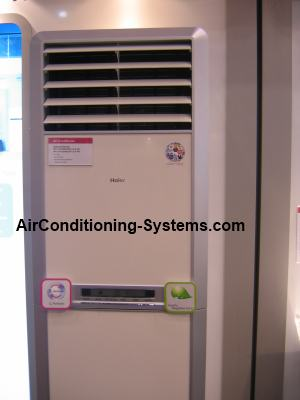 Haier cabinet aircond unit