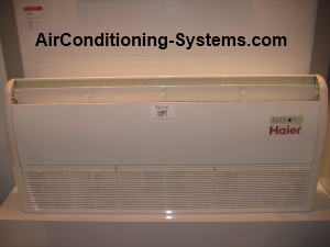 Haier floor standing aircond unit