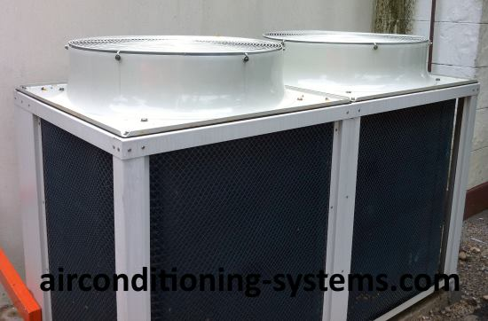 Air-cooled condensers.